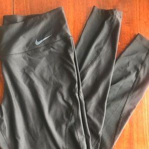 Nike leggings with mesh detail